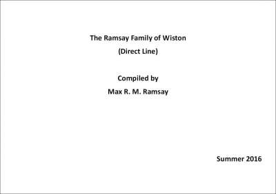 Ramsay Family of Wiston (Direct Line)