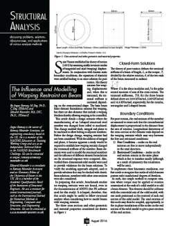 Warping Article in Structure Magazine (US)